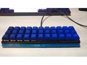 3x11 Ortholinear Keyboard