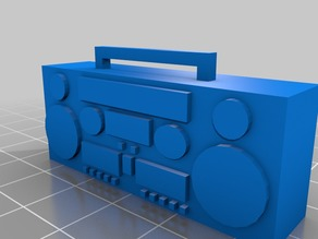 1/10 scale boom box