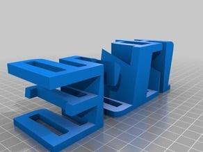 3D-Druck Schriftzug