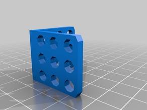 My Customized MakeBlock Parametric L Bracket