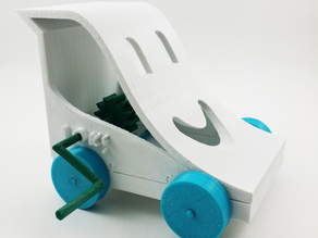 The Smiling Toy Car