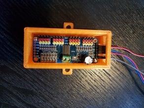 16-channel servo controller mount