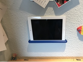 universal tablet wall mount parametric (ipad 2)