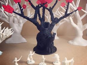 Undead Treeman (18mm scale)