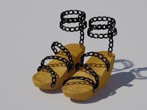 Platform Wedge Heel