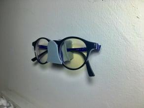 Eyeglasses wall mount holder