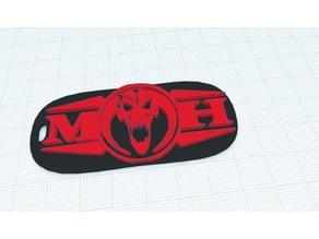 MOH / Masters of Hardcore Logo Keyring