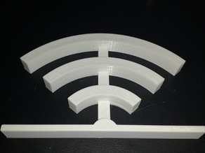 Wifi Table Statue