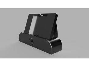 Horizontal Phone Holder with Qi charging