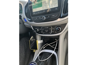 Chevy Volt (2017) X Galaxy S8 phone mount