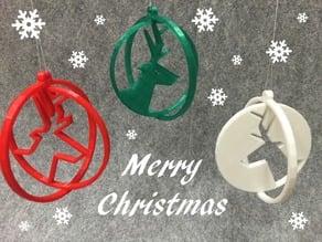 Deer ring for Christmas