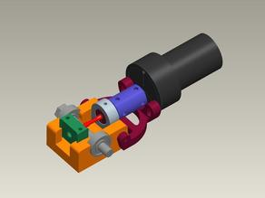 SIGMA - ozgur's 3D printed mini hobbing machine