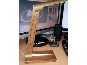 Switch for a home made desk lamp