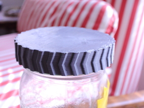 Canning Jar Lid, 3D Printed