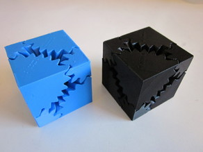 Screwless Cube Gears