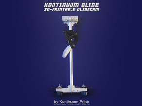 Kontinuum Glide. The 3D-printable glidecam