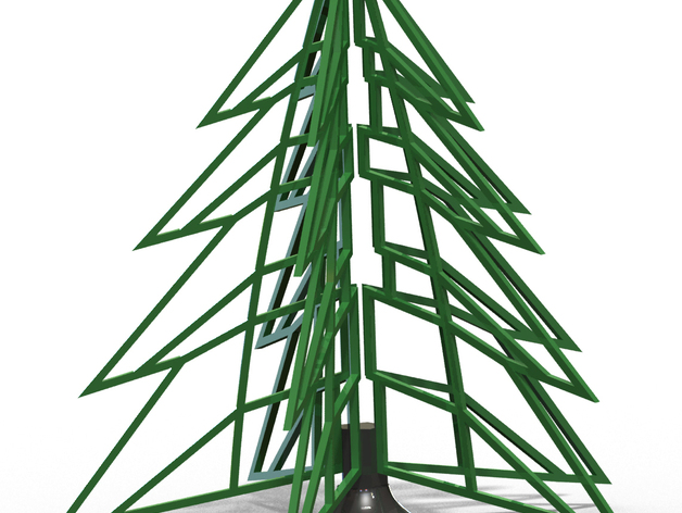 Xmas Tree for 3D printing by IPPE