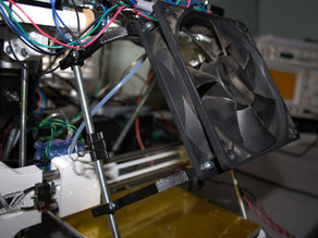 Reprappro Huxley 120mm fan mount