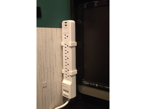 Power Strip Edge Mount