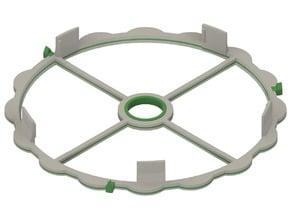 Auto-Rewind Spool Holder - Plain Dial