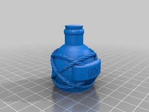 More Potion Flasks and Bottles For Dungeons & Dragons, Pathfinder and Other Tabletop Games