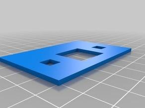 microbit badge front 3D print
