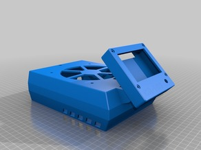 CR-10S/RaspberryPi3 case