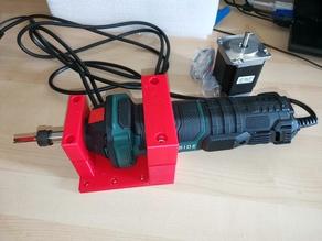 RS-CNC Parkside PGS 500 A1  tool mount + dust shoe