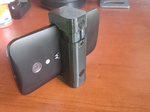 Cell Phone Spring Loaded Tripod Mount