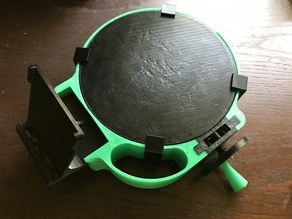 The $30 3D scanner turntable grips
