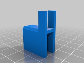Anet a8 glass clamp