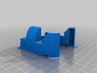 MK7 Extruder Fan Duct & Print Cooler with Side Duct