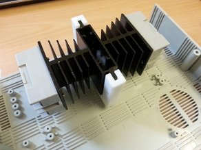 SSR heat sink holder