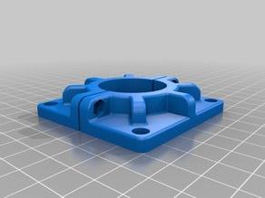 Backwall spule holder
