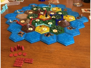 3D Catan for 6 players