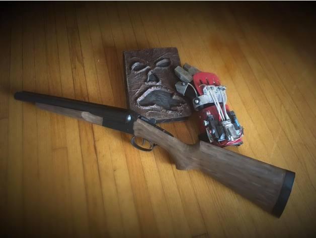 BOOMSTICK! Stoeger Coach Gun - Double barrel side by side 12