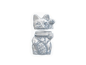 Money Cat Stash Container