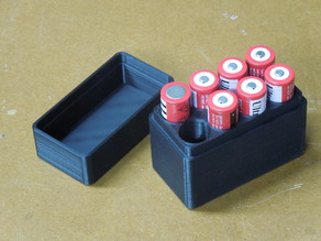 Battery Box 18650 (Unprotected 18650 Batteries)