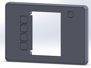Custom case for CNC DRO panel