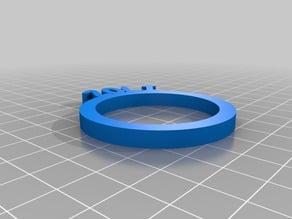 My Customized Personalized Napkin Rings - Zoli