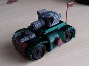Battle Tank - Toy car