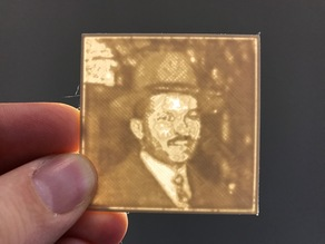 Harry S. McAlpin Lithopane