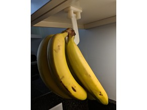 Folding Under Cabinet Banana Hook (Thickened)