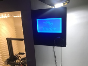 Ender 3 LCD Wall/Box Mount