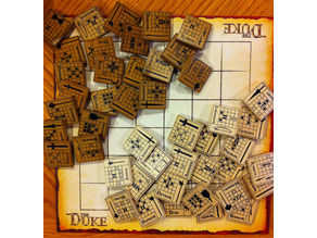 The Duke Board Game - Revised