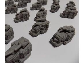Remixed Ork Gun Fortress