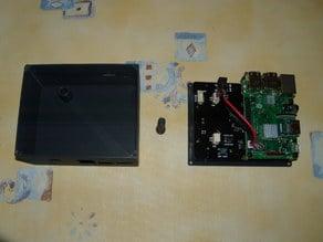 Raspberry Pi 3B+ box + Suptronics X820 v3.0