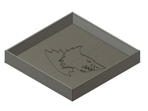 Dice Tray (Space Wolves)