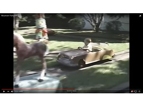 Cutie Caddy car