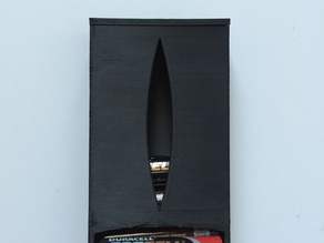 AA battery holder/dispenser